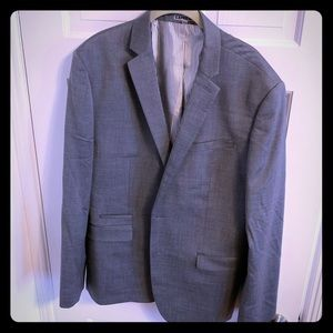 Express Photographer Fitted 3piece Suit Men Sz 42R